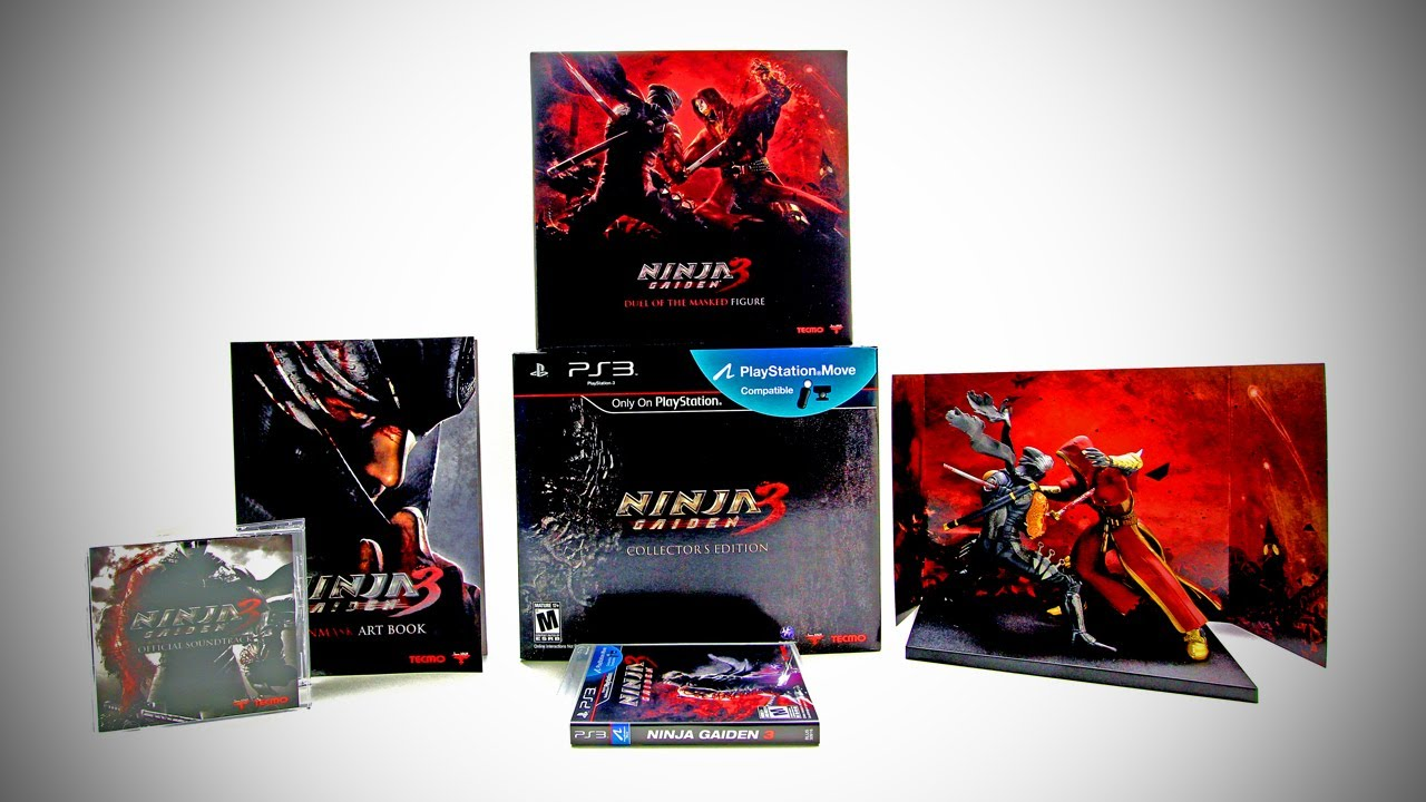 Ninja Gaiden 3 Collector S Edition Unboxing Youtube