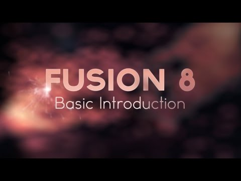 Fusion 8 | Basic introduction
