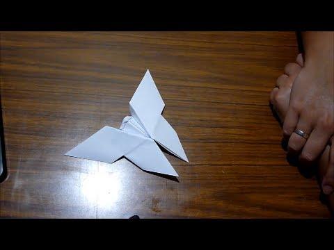 Origami manualidades con papel como hacer una mariposa - Como hacer mariposas de papel ...