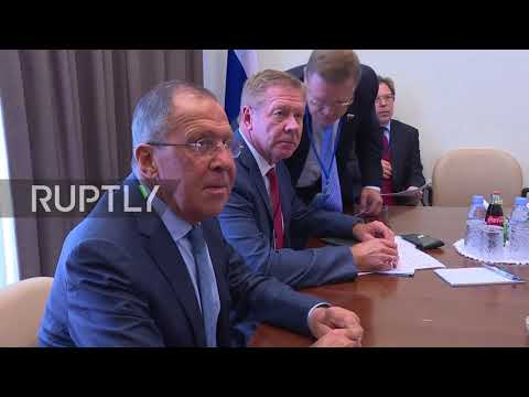 UN: Lavrov wishes Swiss counterpart whatever he 'wishes for himself' during UNGA meeting
