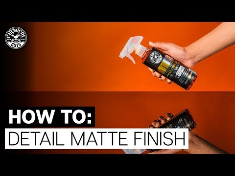 Best Way To Clean & Protect Matte Finish Anywhere, Anytime! - Chemical Guys