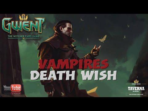 [gwent] Vapires Death Wish Monsters Deck