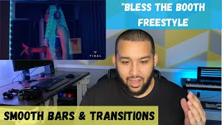 Megan Thee Stallion - Bless The Booth Freestyle Reaction | Smooth Bars & Transitions