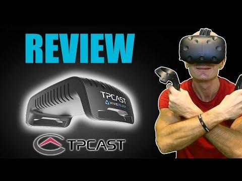 TPCAST REVIEW - SHOULD YOU BUY IT?   HTC Vive Wireless Virtual Reality