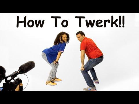 Learn to TWERK in 3 MINUTES!!  Master Class w/ Anisha Gibbs!
