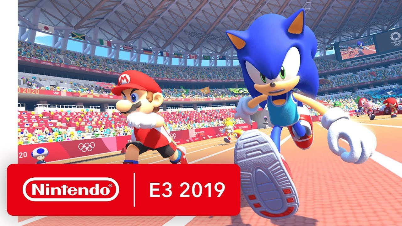 Mario Sonic At The Olympic Games Tokyo 2020 Nintendo