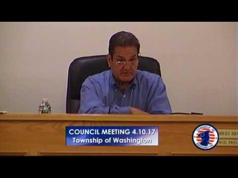 Township Council Meeting 04.10.17
