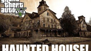 GTA V - One Haunted House Short Film Scary