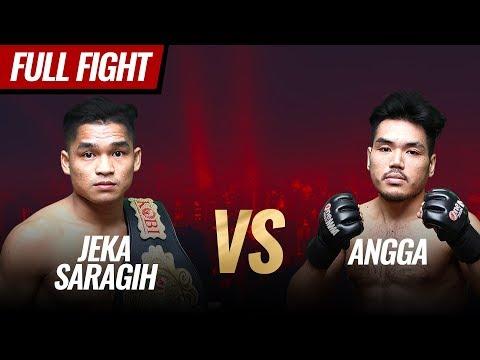 [HD] Jeka Saragih Vs Angga || One Pride MMA FN #36