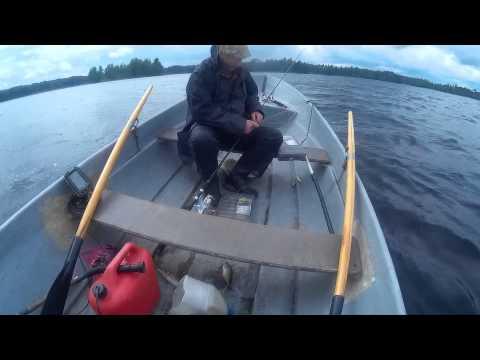 ловля на реке вуокса
