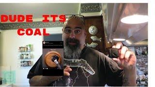 DUDE IT'S COAL! Coal Peanut Butter Crystal