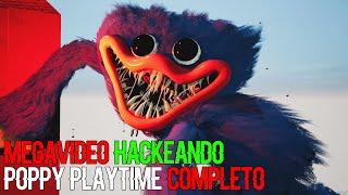 HACKEANDO POPPY PLAYTIME COMPLETO *MEGAVIDEO* (TODOS LOS LUGARES OCULTOS DE HUGGY WUGGY) | BERSGAMER