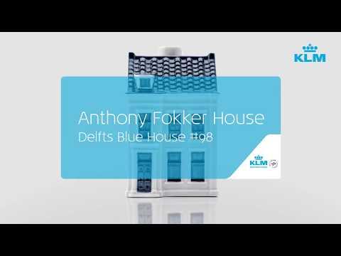 KLM Delfts Blue House 98