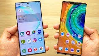 Huawei MATE 30 Pro VS Galaxy NOTE 10+, ¿Cuál es el MEJOR ANDROID de 2019?