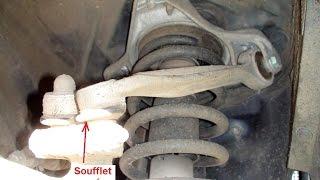 Changement des bras de suspensions sur Audi vw - mecanique mokhtar tunisie تغيير الذراع أودي