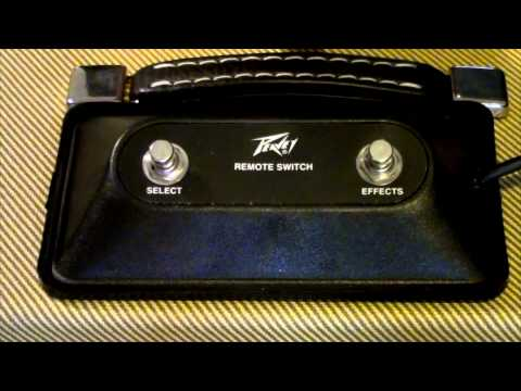 Peavey Amplifier Foot Switch / Remote Switch - YouTube on