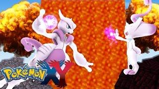Minecraft: Pokemon X Y - A BATALHA CONTRA O MEGA MEWTWO #89