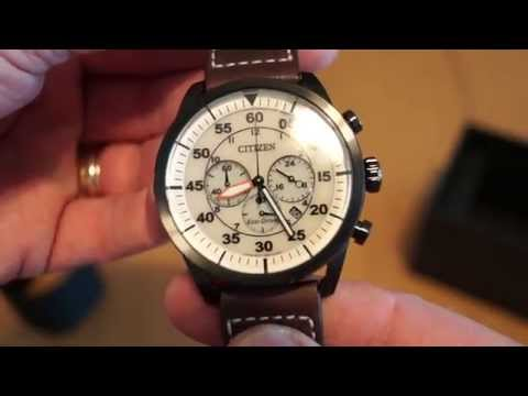 Download Youtube: Citizen Pilot Chrono - Eco Drive from the Miles&More program