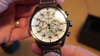 Citizen Pilot Chrono - Eco Drive from the Miles&More program