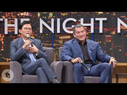 【博恩夜夜秀】硬漢集合!館長與黃國昌半夜深談三小時?
