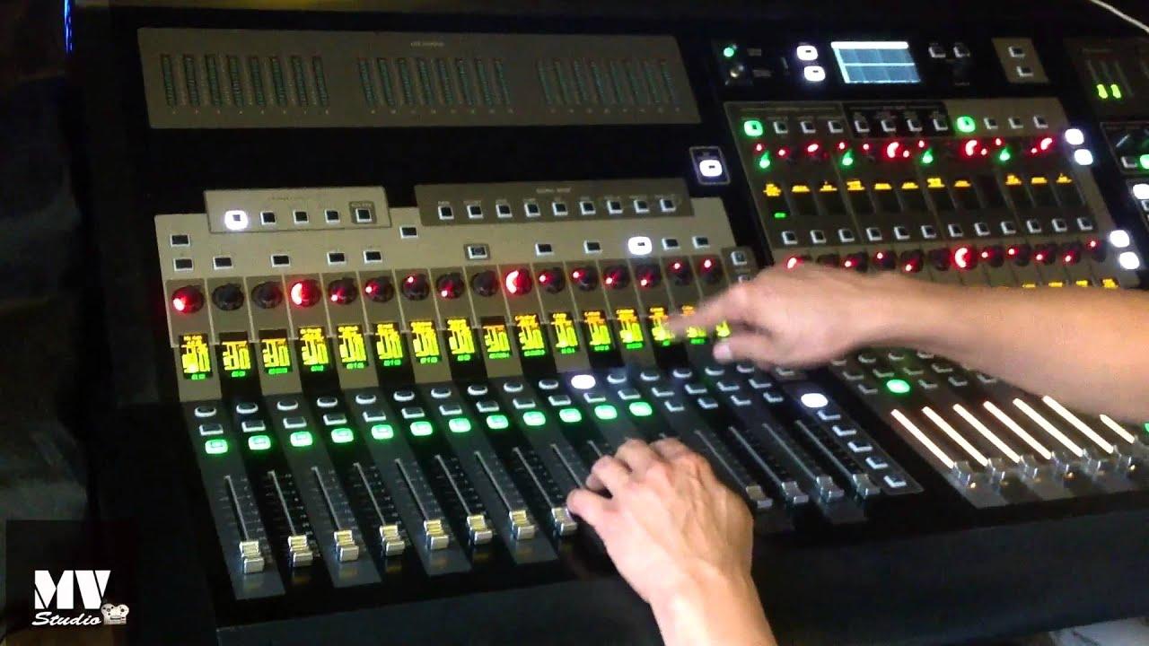 MIXANDO BATERIA NA SOUNDCRAFT SI3 (PARTE 02) - YouTube