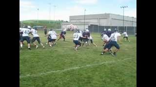 BHHS Football at EWU Football Camp