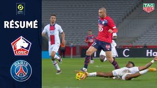 LOSC LILLE - PARIS SAINT-GERMAIN (0 - 0) - Résumé - (LOSC - PSG) / 2020-2021