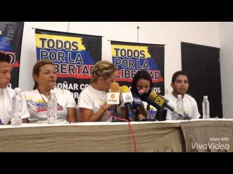 Lilian Tintori denunció agresiones en Cojedes