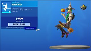🎃Fortnite Item Shop Update NEW Witch Away - 16th October 2020 (Fortnite Battle Royale)