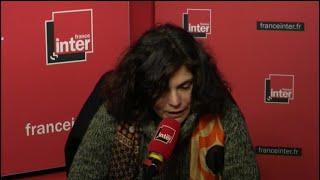 Chahdortt Djavann au micro d'Alexandra Bensaid