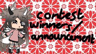 Contest Winners/Announcement! ~ Gacha Gëm
