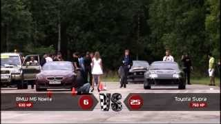 Toyota Supra vs BMW M6