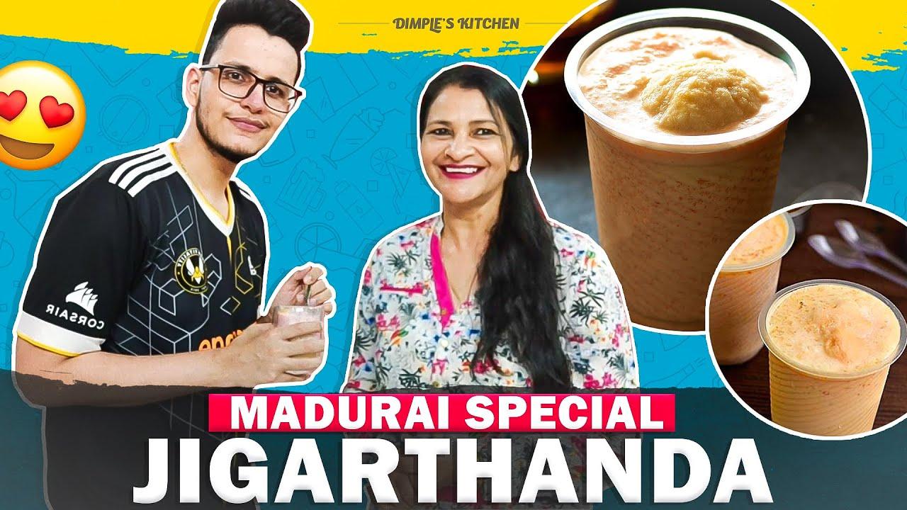 Madurai special jigarthanda ( Tamil Nadu ) recipe !!