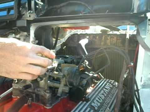 Timing slightly off and a bad carburetor.MOV - YouTube