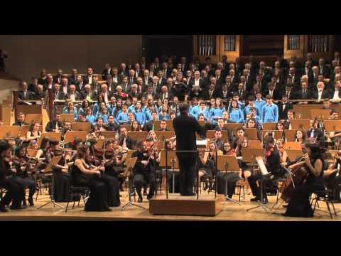 201404 - Orquesta Iuventas Auditorio Nacional Federación Coros Comunidad de Madrid