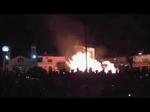 Ανάσταση και Κάψιμο Ιούδα- Άγιος Νεκτάριος Κάτω Σούδα 2015-Chania-Crete-Easter