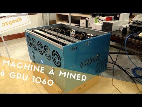 Machine à miner 6 cartes 1060, combien ça coute et combien ça rapporte ?
