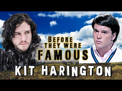 KIT HARINGTON - Before They Were Famous