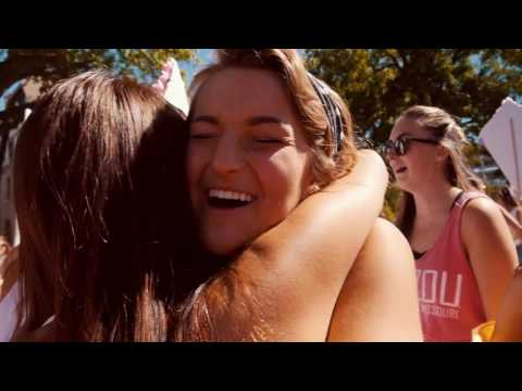 University of Missouri - Kappa Alpha Theta - Bid Day 2016