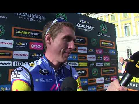 Dan Martin - Interview at the Start - Tour of Lombardy / Il Lombardia 2017