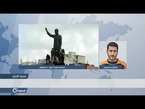 ميليشيا أسد الطائفية تسير دوريات في مدينة درعا - سوريا