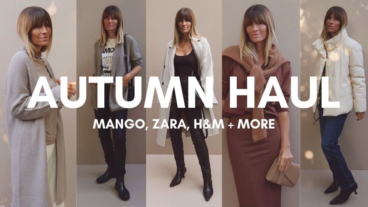 Download AUTUMN HAUL | MANGO, ZARA, H&M | LOOKBOOK