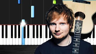 Shape of you - Piano Tutorial By - VN