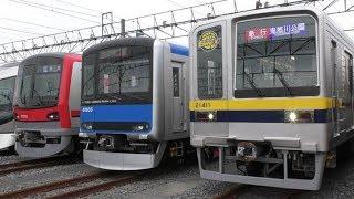 2018年12月 東武ファンフェスタ・展示された電車