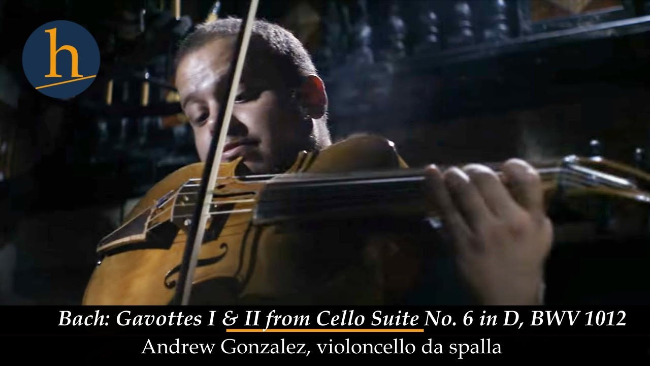 Heifetz 2018:  Violoncello da spalla | Andrew Gonzalez Plays Bach
