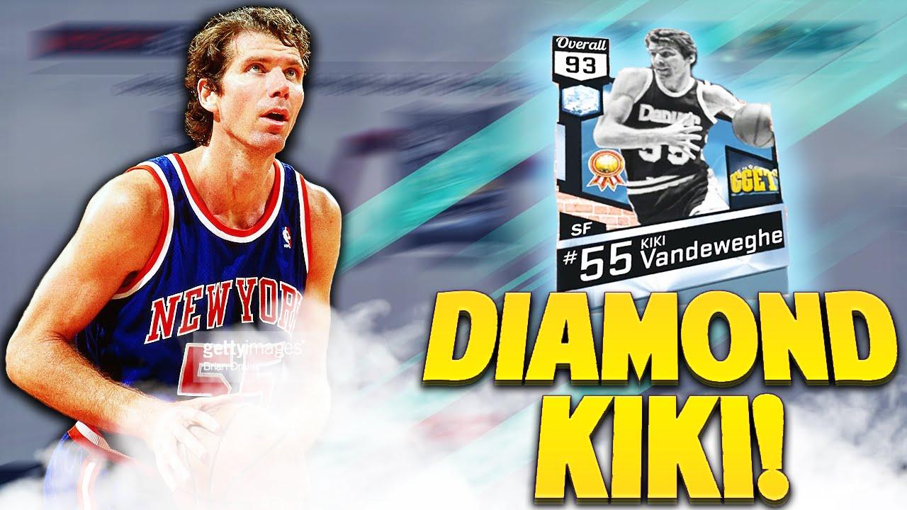 DIAMOND KIKI VANDEWEGHE NBA 2K17 MyTEAM Blacktop Insane Shooter