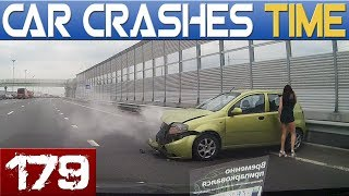 ROAD FAILS Compilation - MAD DRIVERS & INSTANT KARMA - BEST OF DASHCAMS #179