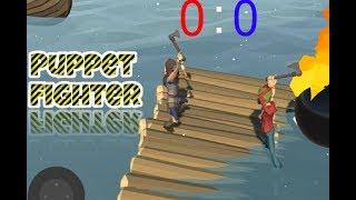 Puppet Fighter: 2 Players Ragdoll Arcade