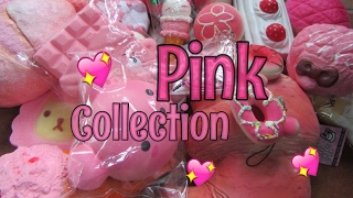 MY PINK SQUISHY COLLECTION! By : Salma Dumadi
