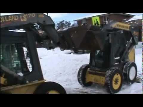 load a disabled skid steer